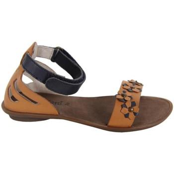 Chaussures Fille Sandales et Nu-pieds Kickers 414440-30 ZONZA Beige