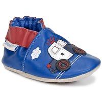 Chaussures Garçon Chaussons bébés Robeez SHERIF CAR Marine