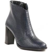 Chaussures Femme Bottines Maroli 7551 Marine