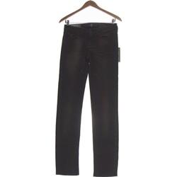 Vêtements Femme Jeans droit 7 for all Mankind Jean Droit Femme  36 - T1 - S Marron