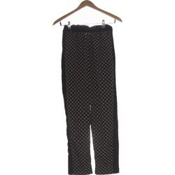Vêtements Femme Pantalons H&M Pantalon Droit Femme  34 - T0 - Xs Noir