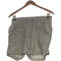 Vêtements Femme Shorts / Bermudas H&M Short  38 - T2 - M Gris