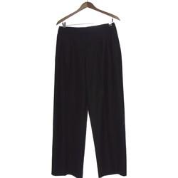 Vêtements Femme Pantalons Autre Ton Pantalon Droit Femme  40 - T3 - L Noir