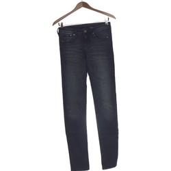 Vêtements Femme Jeans droit H&M Jean Droit Femme  34 - T0 - Xs Bleu