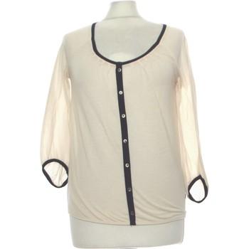 Vêtements Femme Gilets / Cardigans Mexx Gilet Femme  36 - T1 - S Beige