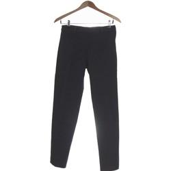 Vêtements Femme Pantalons H&M Pantalon Droit Femme  36 - T1 - S Gris