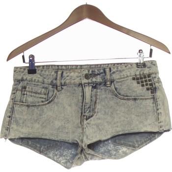Vêtements Femme Shorts / Bermudas Zara Short  36 - T1 - S Bleu