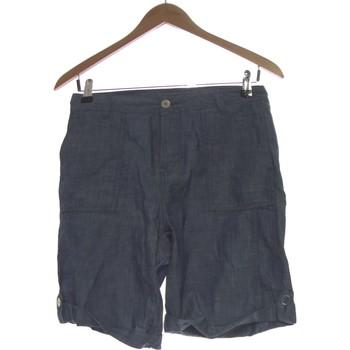 Vêtements Femme Shorts / Bermudas Camaieu Short  38 - T2 - M Bleu