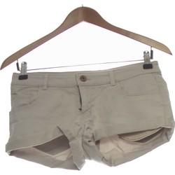Vêtements Femme Shorts / Bermudas H&M Short  34 - T0 - Xs Gris