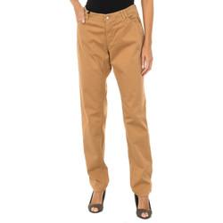 Vêtements Femme Pantalons Armani jeans Pantalon long Marron