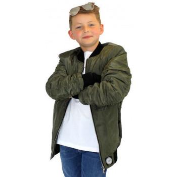 Vêtements Enfant Blousons Sixth June - Bomber Kaki - Junior Noir