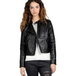 Vêtements Blousons Molly Bracken Veste Perfecto noir Noir