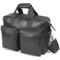 Sacs Sacs ordinateur Eastpak Sacoche ordinateur  Tomec en cuir ref_eas36613-762-blackleather Noir