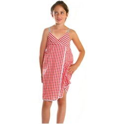 Vêtements Fille Robes courtes Little Marcel roline rouge