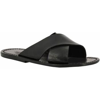 Chaussures Femme Mules Gianluca - L'artigiano Del Cuoio 560 U NERO CUOIO nero