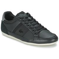 Chaussures Homme Baskets basses Lacoste CHAYMON 116 1 Noir / Gris