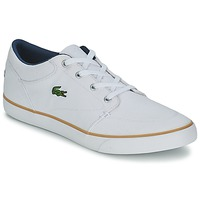 Chaussures Homme Chaussures bateau Lacoste BAYLISS 116 2 Blanc