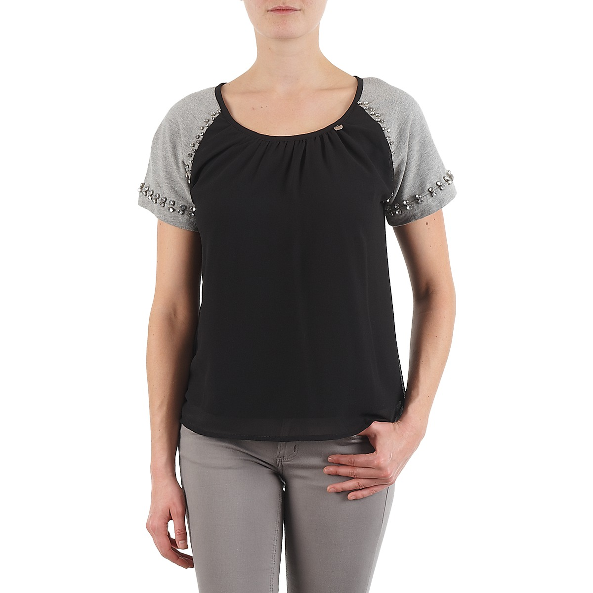 Lollipops PADELINE TOP Noir / Gris