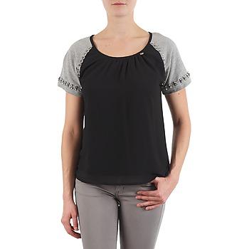 T-shirts & Polos Lollipops PADELINE TOP Noir / Gris 350x350