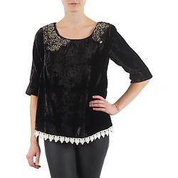 Vêtements Femme T-shirts manches longues Lollipops PILOW TOP Noir