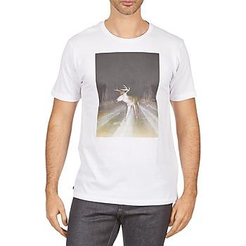 Vêtements Homme T-shirts manches courtes Kulte BALTHAZAR PLEIN PHARE 101931 BLANC Blanc
