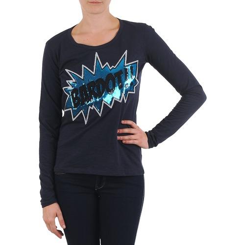 Vêtements Femme T-shirts manches longues Brigitte Bardot BB43130 Bleu