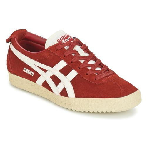Onitsuka Tiger MEXICO DELEGATION SUEDE Rouge - Chaussures Baskets basses
