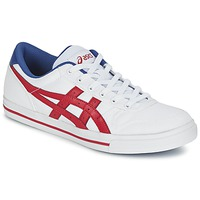 Chaussures Baskets basses Asics AARON Blanc / Rouge