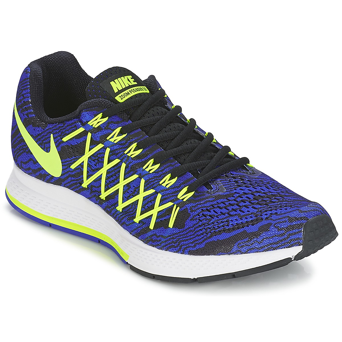 Chaussures-de-running Nike AIR ZOOM PEGASUS 32 PRINT Bleu