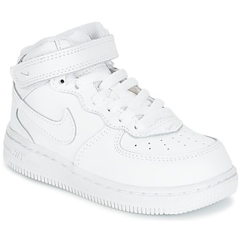 4f509869269 Chaussures Enfant Baskets montantes Nike AIR FORCE 1 MID TODDLER Blanc