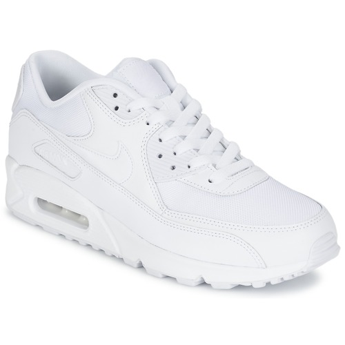 newest 6cf0d a2a1d Chaussures Homme Baskets basses Nike AIR MAX 90 ESSENTIAL Blanc
