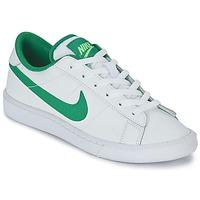Chaussures Garçon Baskets basses Nike TENNIS CLASSIC JUNIOR Blanc / Vert