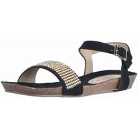 Chaussures Femme Sandales et Nu-pieds Tiziana PETRA Noir