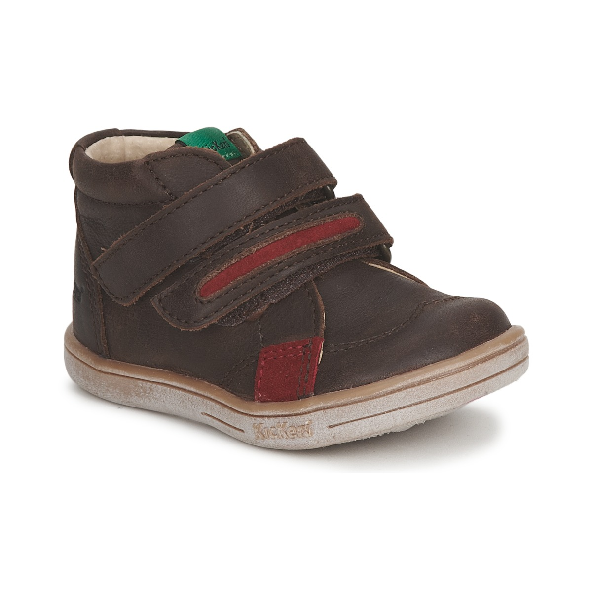 Kickers TAXI Marron / Rouge