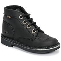 Chaussures Enfant Boots Kickers KICK COL Noir