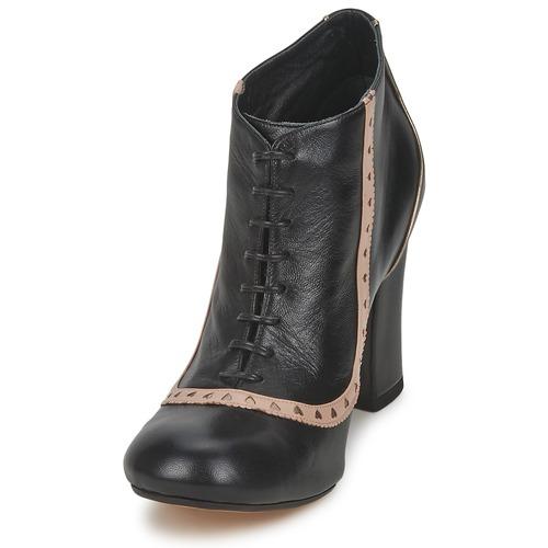 Low Chofakian Femme Noir Boots Salut Sarah 8nXw0PkO