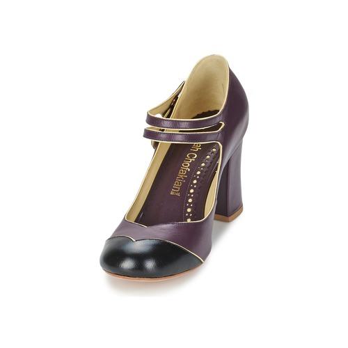 Chaussures Escarpins Sarah Bordeaux Zut Chofakian noir Femme vNwm08n