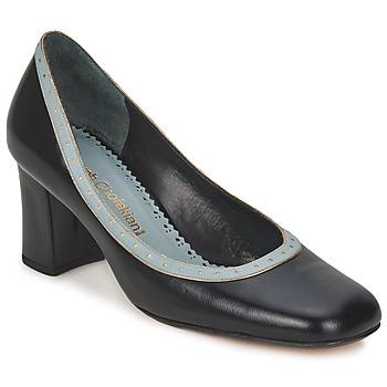 Chaussures Femme Escarpins Sarah Chofakian SHOE HAT Noir et Bleu clair
