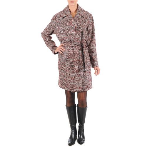 Vêtements Femme Manteaux Lola MORANDI IPERYON Bordeaux