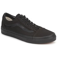 Chaussures Baskets basses Vans OLD SKOOL Noir / Noir