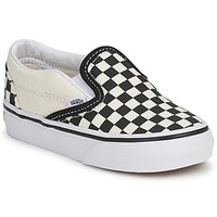 Chaussures Enfant Slips on Vans CLASSIC SLIP ON KIDS Noir / Blanc
