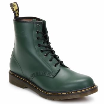 Chaussures Femme Bottines Dr Martens 1460 8 EYE BOOT Vert