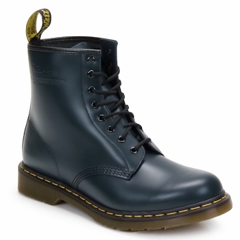 Chaussures Bottines Dr Martens 1460 8 EYE BOOT Bleu