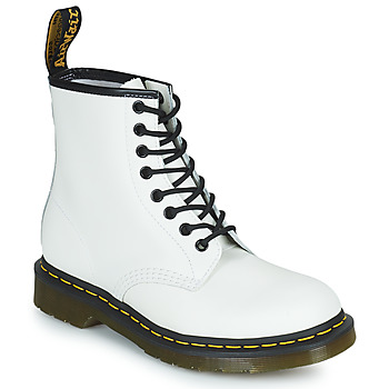 Chaussures Boots Dr Martens 1460 Blanc