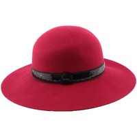 Chapeaux Léon Montane Chapeau Feutre Carmina en coloris rouge