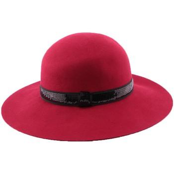 Accessoires textile Femme Chapeaux Léon Montane Chapeau Feutre Carmina en coloris rouge Rouge