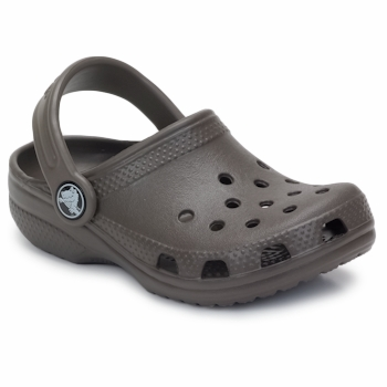 Chaussures Enfant Sabots Crocs KIDS CLASSIC CAYMAN CHOCOLATE