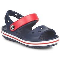 Chaussures Enfant Sandales et Nu-pieds Crocs CROCBAND SANDAL Marine / Rouge