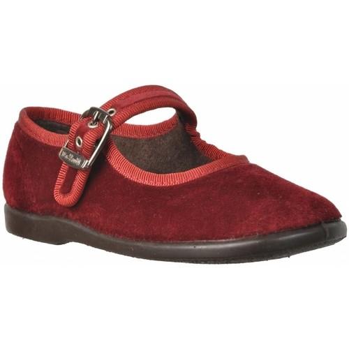 Chaussures Fille Derbies & Richelieu Vulladi 34601 Rouge