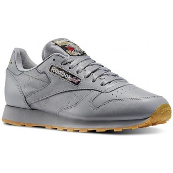 Chaussures Homme Baskets basses Reebok Sport Classic Leather - Ref. V62643 Gris